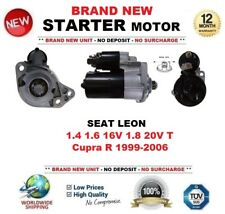 FOR SEAT LEON 1.4 1.6 16V 1.8 20V T Cupra R 1999-2006 STARTER MOTOR 1.1kW 9Teeth