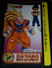 DRAGON BALL Z GT DBZ HONDAN PART 24  CARDDASS DP CARD CARTE 305  JAPAN 1995  NM