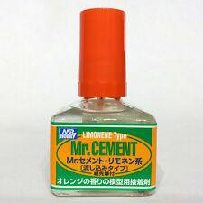 Mr Hobby Gunze GSI Creos Cement Limonene Citrus Lemon Scent 40ml MC130 Wet Glue