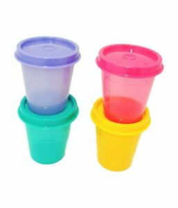 Tupperware Midgets Containers Multi Color 60 ml Set of 4 Color may vary Freeship