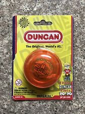 New Duncan Imperial Yo-Yo Classic Style 3124IM - Orange - New In Package