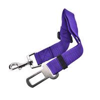 Car Safety Seat Belt Harness Restraint Lead Travel Clip For Pet Dog FT