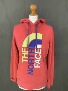 THE NORTH FACE Ladies Pink HOODIE / HOODED TOP Size S Small  HOODY