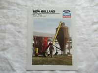 1989 Ford New Holland 353 355 358 359 grinder-mixers brochure