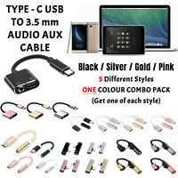 5 in 1 TYPE-C USB 3.5mm AUX Jack Headphone Adapter/Splitter Cable For ONEPLUS