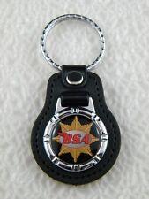 BSA KEY FOB CHAIN KEYRING MOTORCYCLE B31 CAFE RACER B32 B40 GOLD STAR PIN PATCH