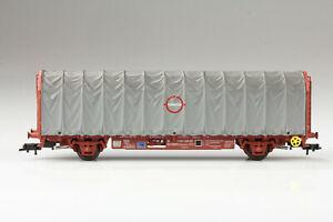 H0 Electrotren Schiebeplanenwagen Renfe 71410 2 024-5 min. Schmutz/Kratzer OVP