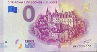 BILLET 0  EURO CITE ROYALE DE LOCHES LE LOGIS  FRANCE  2019  NUMERO 4000