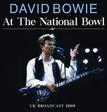 DAVID BOWIE 'AT THE NATIONAL BOWL' (UK Broadcast 1990) CD (4th September 2020)