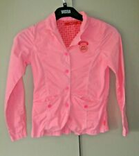 OILILY AGE 8 YEARS PINK BUTTON UP JACKET