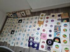 "350 7"" Vinyl Single Record Bundle Collection Soul, Motown, Disco Etc Job Lot"