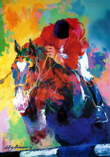 LeRoy Neiman Poster Riding for America polo Make an Offer!!