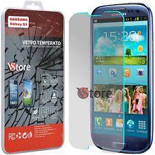 """2 Pellicola in Vetro Per SAMSUNG Galaxy S3 Neo i9301 i9300 Proteggi Display 4.8"""""""