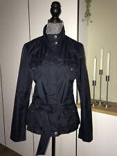 Edle Esprit Collection Designer Jacke Anorak Übergangsjacke 38 S/M Navy Blau