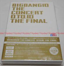 BIGBANG BIGBANG10 THE CONCERT 0.TO.10 THE FINAL DELUXE EDITION DVD CD Photobook
