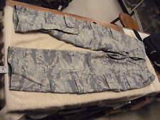 USAF Camo Pattern Womens Utility Trousers  Size 10 XS , USAF Tiger Stripe Gray