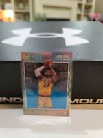 2019-20 Illusions Lebron James Clear Shots BLUE SAPPHIRE Rare Lakers