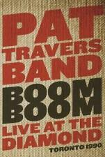 Pat Travers Band - BOOM BOOM Live At The Diamond Totonto 1990    DVD