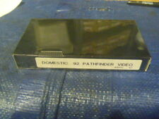 New Domestic VHS Video Cassette Tape Fits 1992 92 Pathfinder