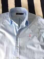 Mens Ralph Lauren Light Blue Shirt In XL