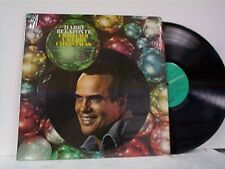 "HARRY BELAFONTE ""I WISH YOU A MERRY CHRISTMAS"" LP NEAR MINT IN SHRINK"
