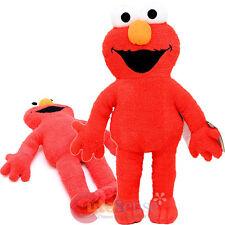 "Sesame Street Elmo Cuddle Pillow 25"" Soft Stuffed Jumbo Plush Doll Cushion"