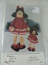Rag Doll Spooky Hollow Child Costume 5-8  NIP