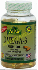 OMEGA 3,OMEGA 3 XL 100 SOFTGELS concentrated Anti Inflammatory FAST SHIPPING