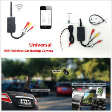 903W Wifi Wireless Car Camera Video Rearview Transmitter Kit For iPhone Android