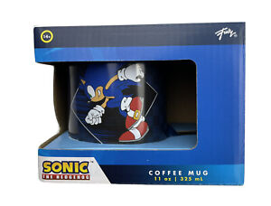 Sonic The Hedgehog Dark Blue 11oz 325 ml Ceramic Coffee Mug Not Microwaveable