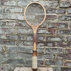Vintage Wooden Tennis Racket / Master Win Collectible Antique Sports Memorabilia