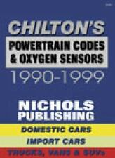 Chilton Powertrain Codes,Oxygen Sensors Domestic&Import Cars,Trucks,Vans 90-99