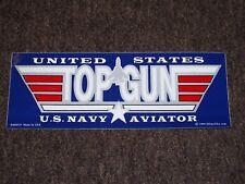 US NAVY TOP GUN BUMPER STICKER DECAL U.S.