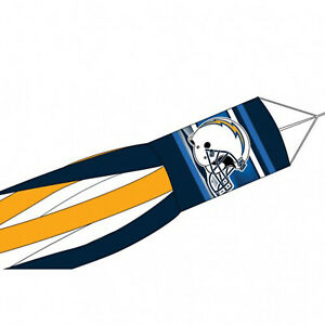"""Los Angeles Chargers NFL Windsock Licensed Sports Football 57"""""""