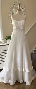 Beautiful Alfred Sung Wedding Dress Size 10 Bride Bridal
