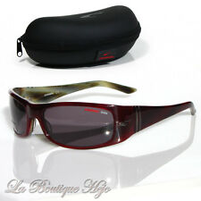 Carrera de diseño de gafas de sol grieta 8 8c2y1 burdeos/Olive Sunglasses nuevo