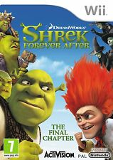 Nintendo Wii Game Forever Shrek 4 NEW