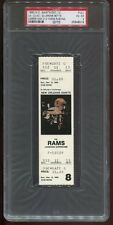 1993 N.O. Saints 12/12 Full Ticket Rams Jerome Bettis Career High 212 Yrds PSA 4