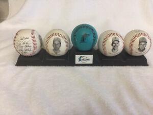 Florida Marlins Inaugural Baseball Set