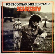 John Cougar Mellencamp Scarecrow LP Vinyl Album 1985 Riva RVLS 7505 VG+