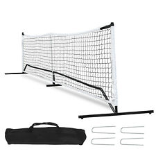 22FT Deluxe Complete Tennis Net & Stand Set - Easy to Assemble W/Carry Bag