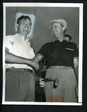 Chick Harbert & Henry Ransom 1950 Tam O' Shanter Golf Type 1 Press Photo