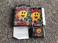 Ms. Pac Man Sega Genesis Complete In Box CIB Tested And Working Authentic