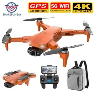 4K HD dual camera drone with GPS 5G WIFI brushless motor RC professional drone