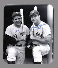Item#3022 Yogi Berra & Mickey Mantle Facsimile Autographed Mouse Pad