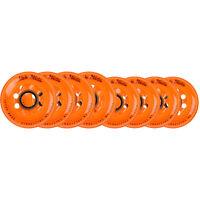 LABEDA Wheels 80mm /76mm HILO Set ADDICTION ORANGE Inline Indoor Roller Hockey