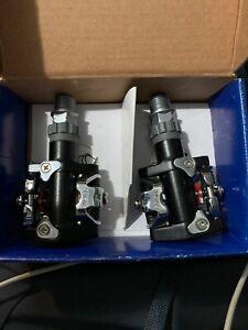 NEW WELLGO WAM-M727 BIKE MOUNTAIN MTB CLIPLESS PEDALS BO / CR-L & CR-R Pair