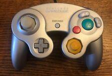Oficial Controlador Nintendo GameCube Original De Plata