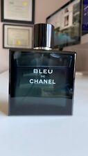 Chanel Bleu de Chanel EDT Eau de Toilette 3.4 fl.oz | 100 ml Spray Men *80% FULL