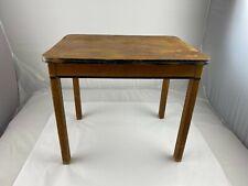 Vintage Kinderset Childs Play Desk Table Solid Wood Kids  22 x 19 x 16.5  USA